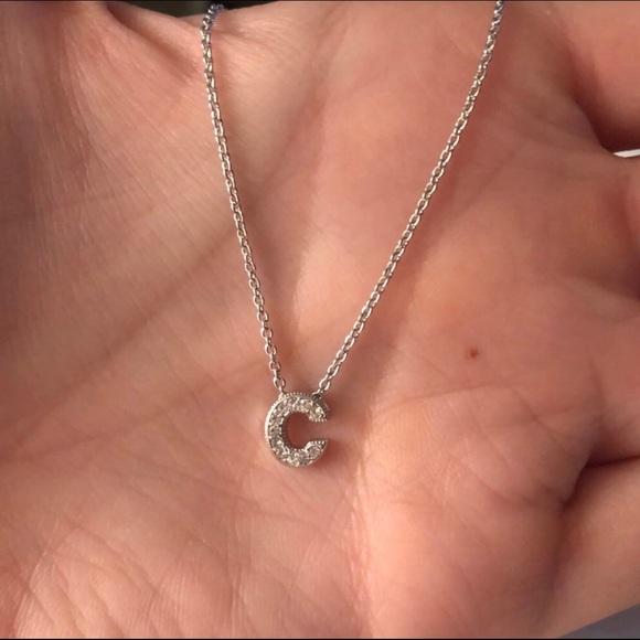 Nadri jewelry initial necklace poshmark nadri initial necklace aloadofball Choice Image